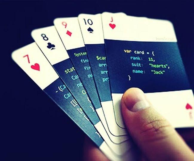 Code Card Game Mühendis Isi