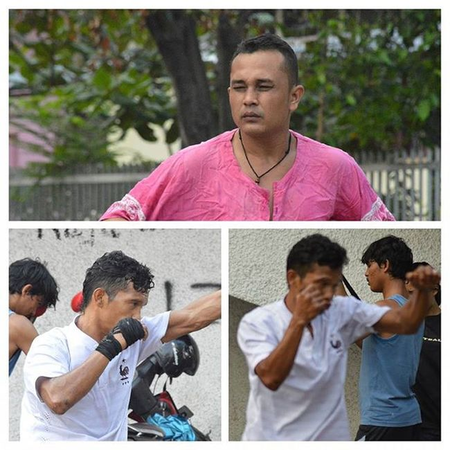 """PERTINA kids"", when my boys get that face in hot days training...Boxer Boxing Petinju Tinju Olahraga Sport Spots Fighter Fitness Selfdefense Sumaterautara INDONESIA"
