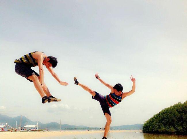 BoracayIsland Philippines KarateKid Unwinding Jesus