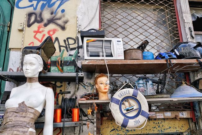 Store Retail  Outdoors No People Collection Nobody Greece Greek Floatingmarket Street Objects Old Athens Athens, Greece Fleamarket Fleamarketfinds Fleemarket