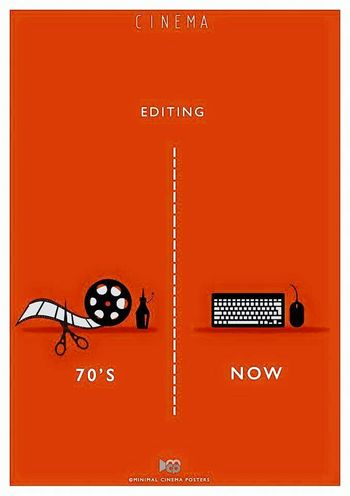 Oldcinema Cinema 35mm Film Filmroll ArtWork Editing Editor Video Editing FinalCutPro
