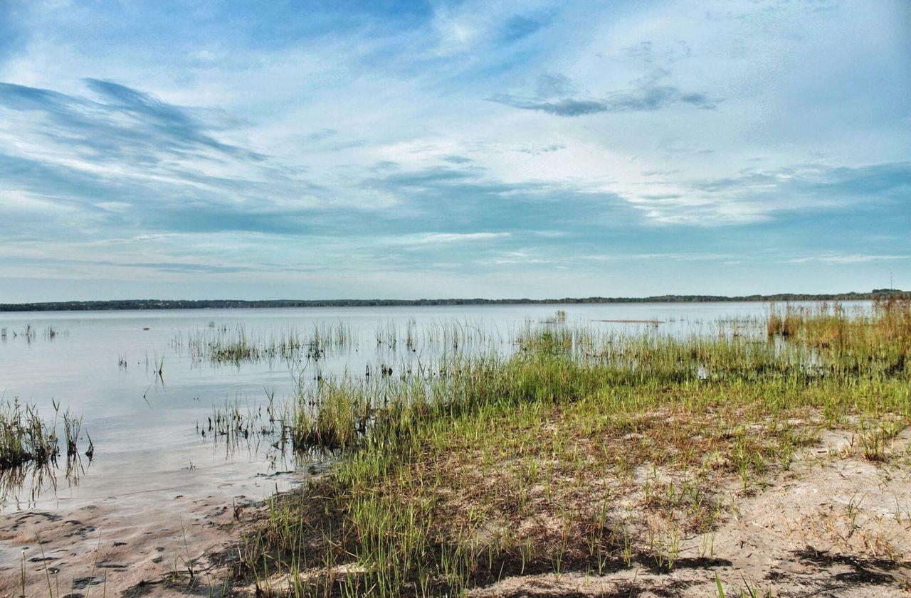 """The world is quiet here."" Open Edit Beautiful Tadaa Community Popular Photos Florida Water Lake Louisa Sky"