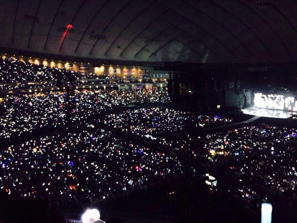 またtaylorのコンサート行きたい😭リストバンドが光って会場中がいろんな色になってて綺麗だった✨ Taylor Swift 1989 テイラー Tokyo