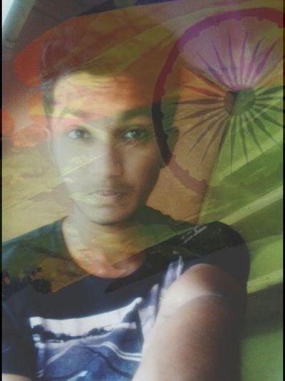 Proud Love Incredible India Orange White Green <3