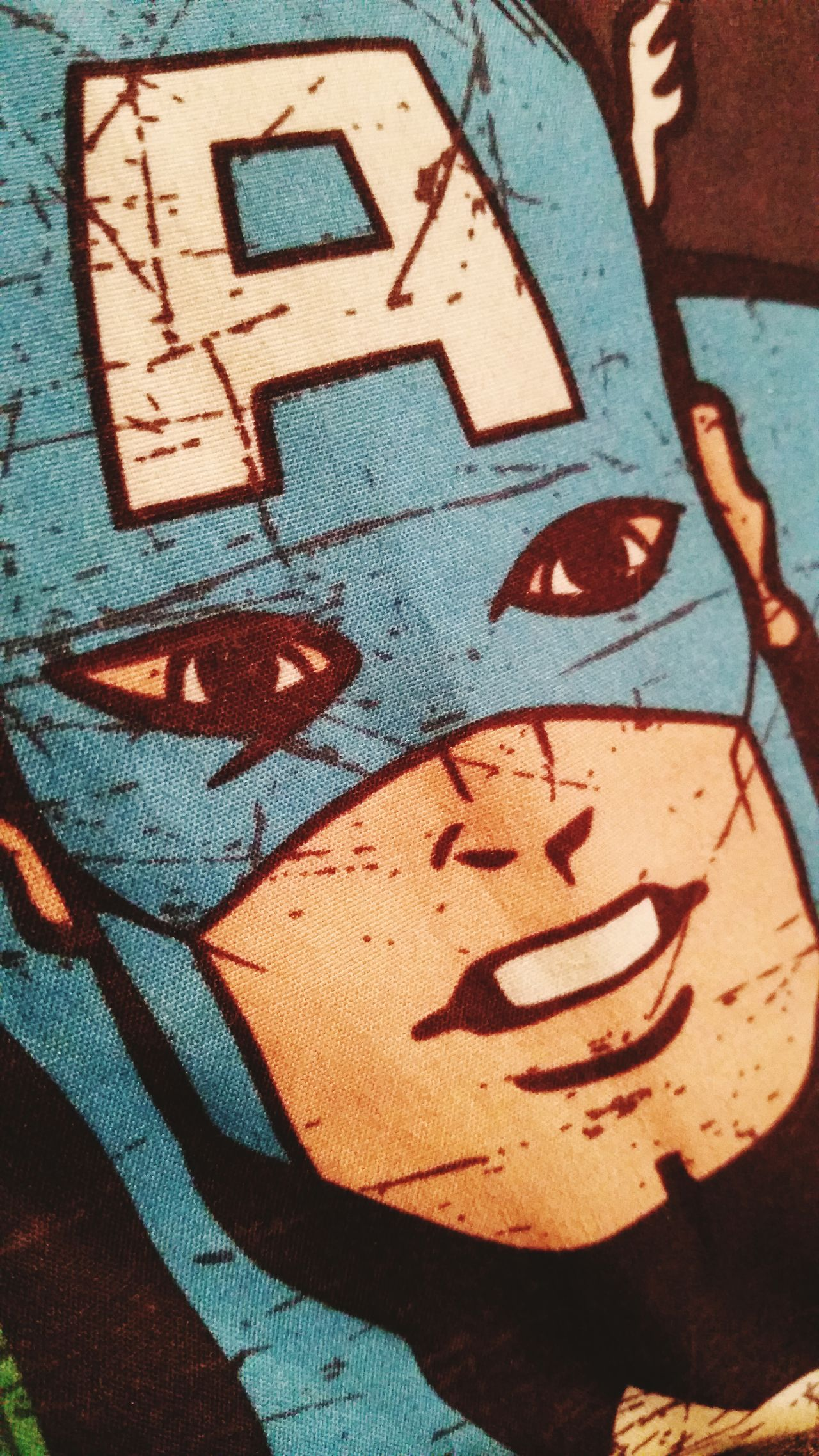 Superhero Captianamerica