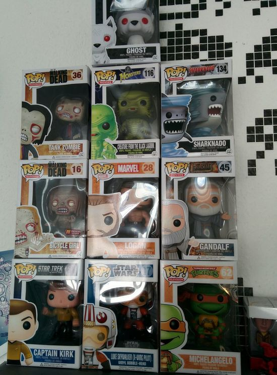 They are growing Collection POP! Nerdy