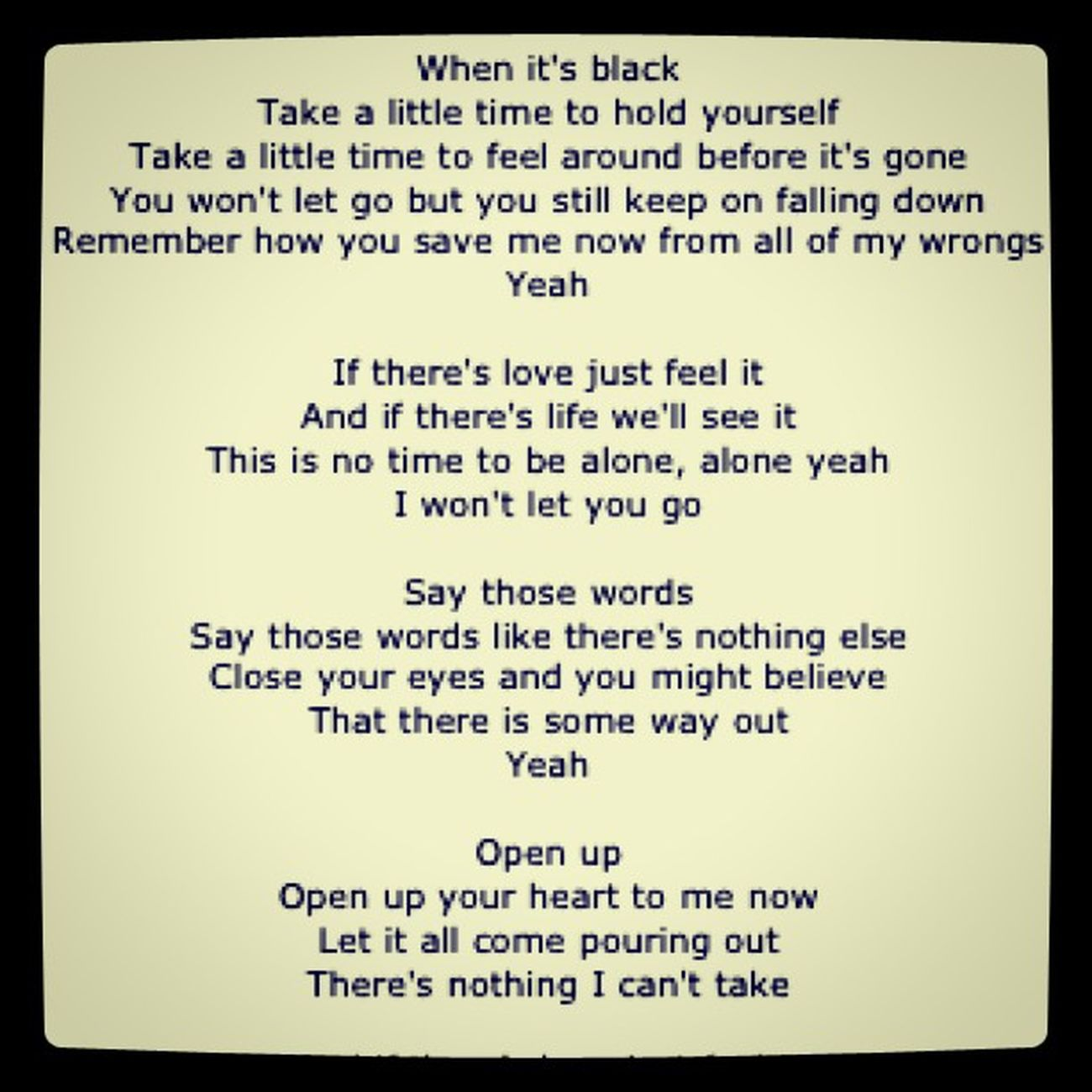 I Won't Let You Go - James Morrison Jamesmorrison Theawakening Lss