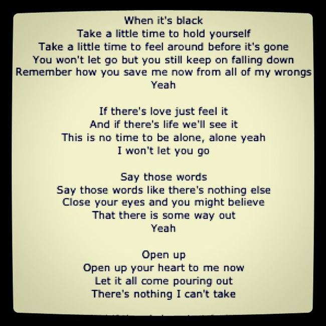 I Won't Let You Go - James Morrison Jamesmorrison Theawakening Lss