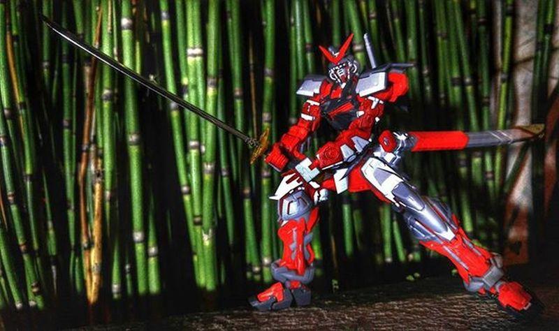 Toys Figure Gundam Gunpla Astray AstrayRedFrame Katana Val  2016 LGG4 LG  G4