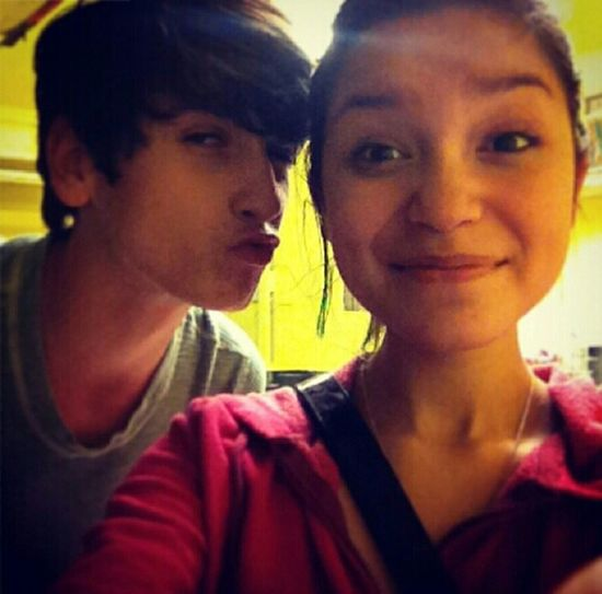 RYRY ∞♥ we're not related, I just LOOK white /.\ gosh I look gross.