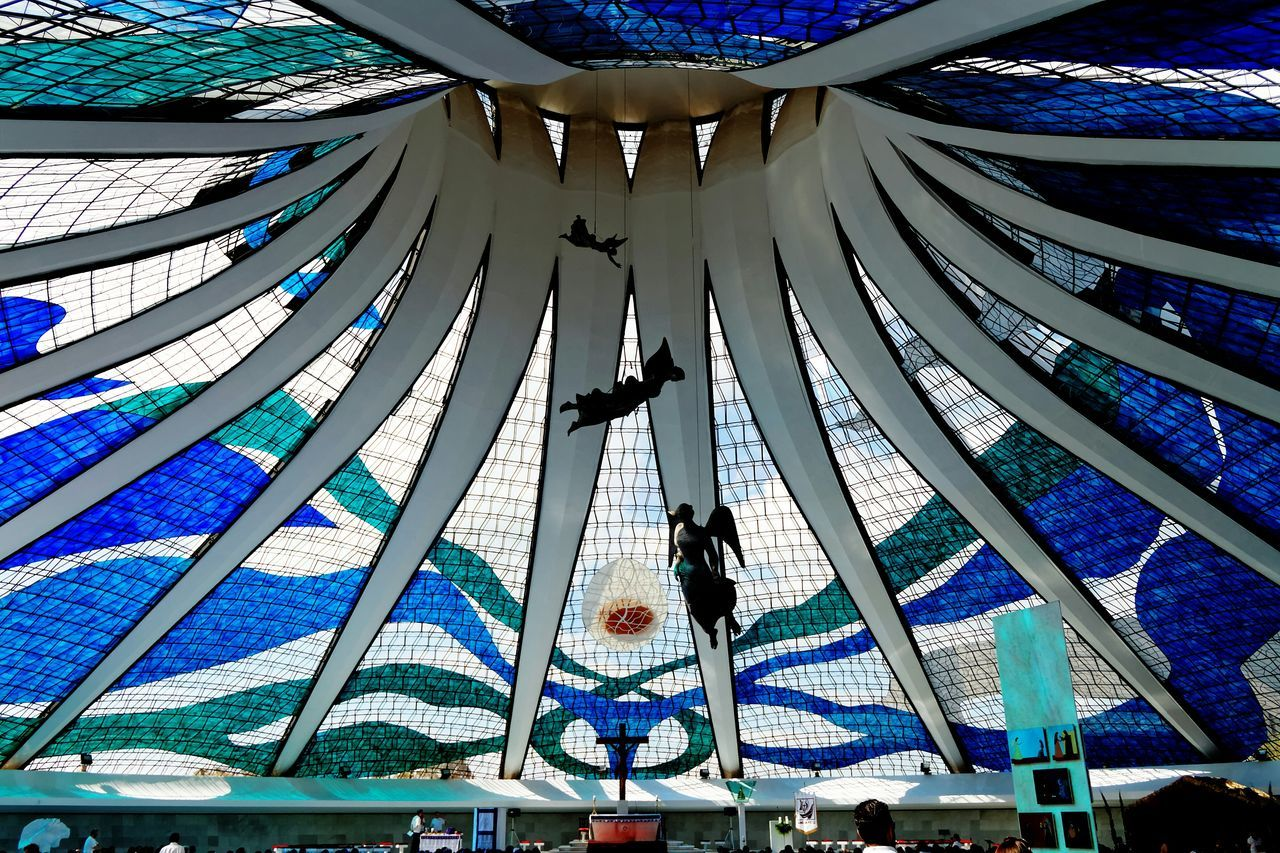 Brasilia city-Brazil Oscar Niemeyer Brasilia♡ Brazil Buildings Architecture_collectionChurch Cathedral South Brasília - Brazil Brazil - Brasília - DF