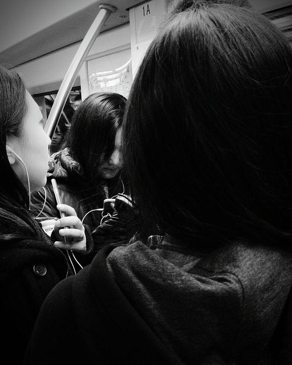 Subway People Subway Portraits Subway Train Crowded Metro