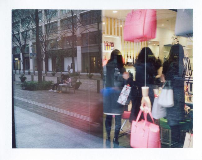 Tokyo Street Photography Capture The Moment People Street Life Everybodystreet Urban Lifestyle EyeEm Best Shots Eye4photography  Streetphotography AMPt - Street Street Photography Film Film Photography Colors Reflection Polaroid Polaroid Photography