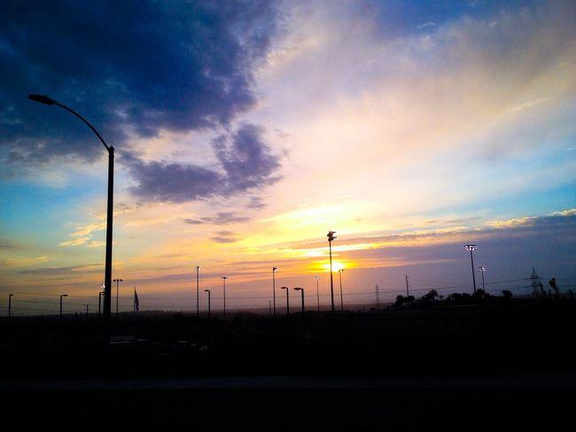 Sunset Eastlake Walking Around