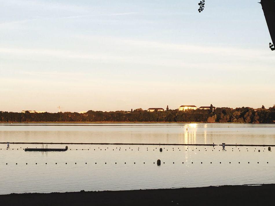 Lac De Maine Lake Sunset