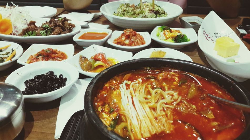 Finally some good food! UAE Dubai Korean Food