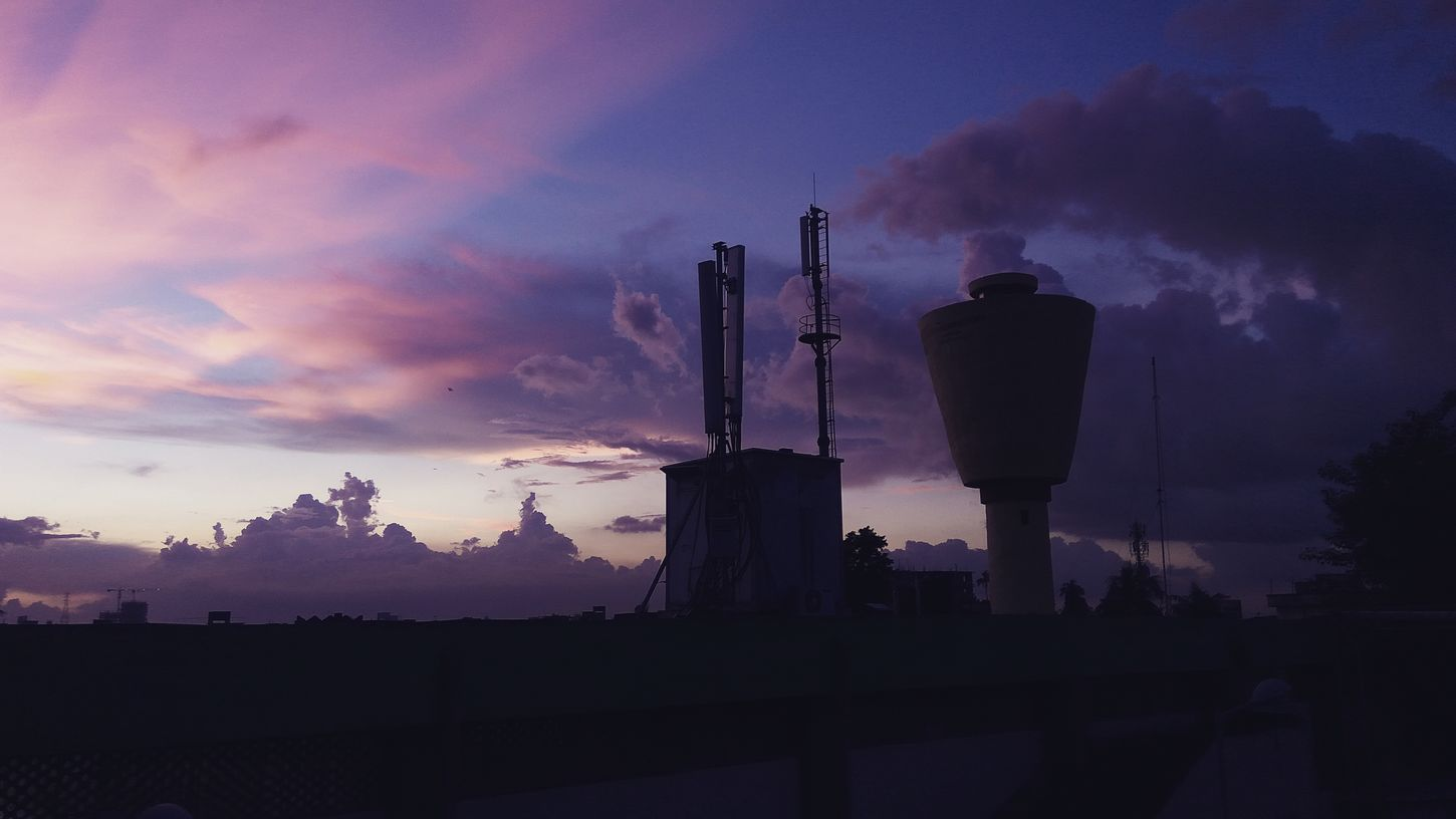 Colors of the wind Silhouette Architecture Built Structure Sky Dusk Tall - High Travel Destinations Industry Tower Building Exterior Cloud Outdoors Cloud - Sky Tall Famous Place Nature Monument Outline International Landmark Tourism