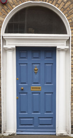 Dublin Individuality Ireland Old Fashioned Resistance  Wood Architecture Blue Building Exterior Civil Day District Door English Gregorian Historical Law Medieval Neighborhood No People Outdoors Series