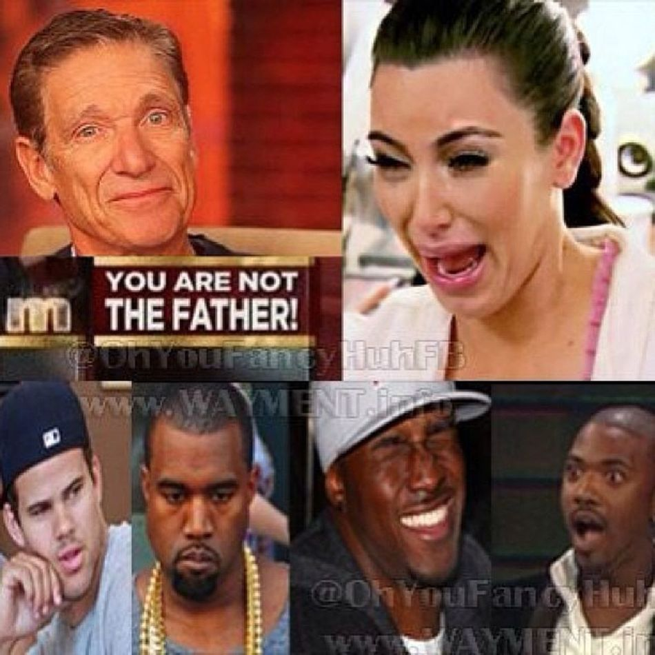 Damn Kimkardashian Kanyewest KrisHumphries ReggieBush RayJ all on Maury