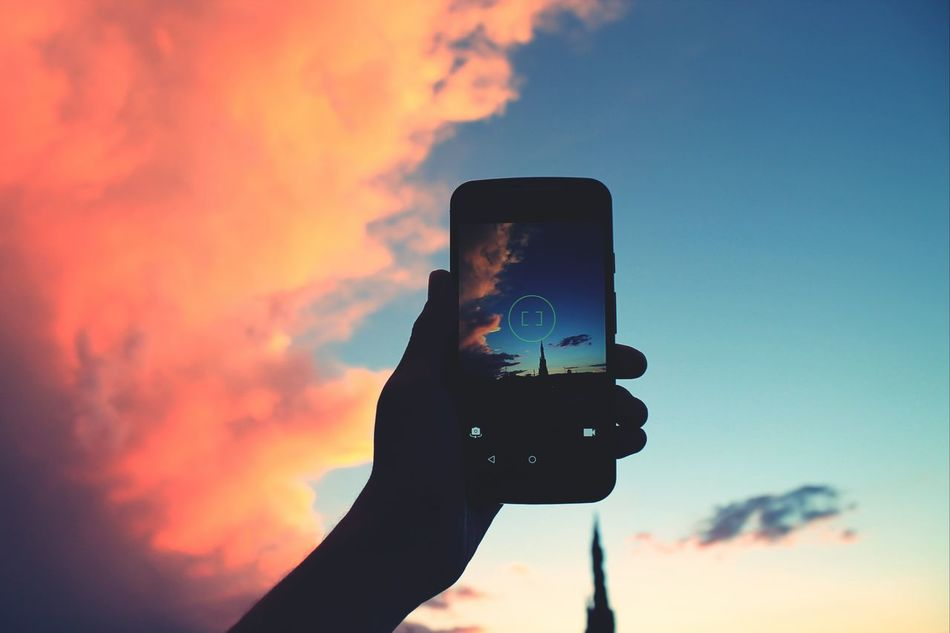Beautiful stock photos of mexico, Beauty In Nature, Cell Phone, Cropped, Dusk