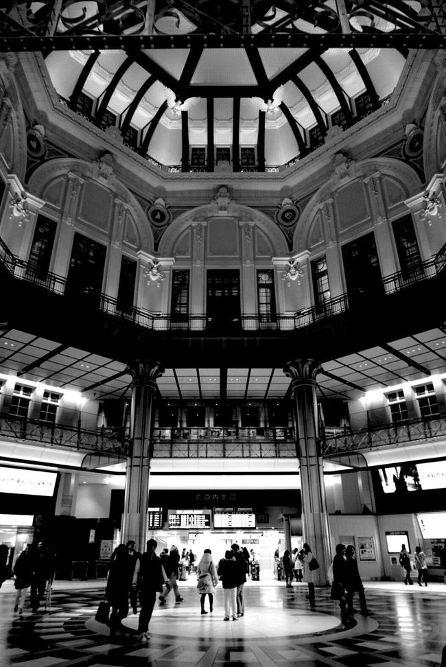 Station Transportation Architecture City People Railroad Station Built Structure Black And White Monochrome Taking Photos Passenger Eye4photography  Streetphoto_bw Street Photography Walking Around Cityscapes Urban Geometry Light And Shadow Architecture_bw
