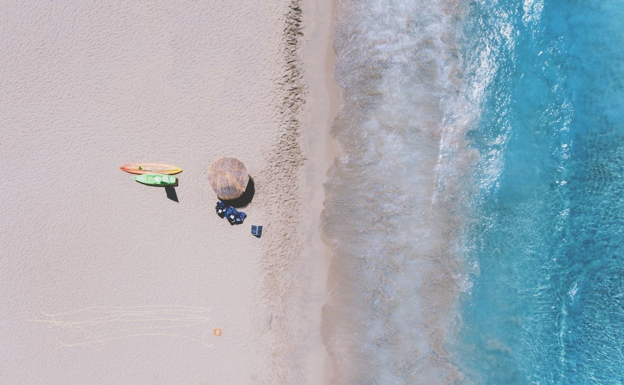 Beautiful stock photos of drones,  Aerial View,  Beach,  Day,  Freshness