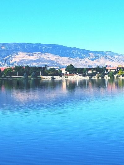 Nature Water City Reflection Outdoors Cityscape Sky Landscape Beauty In Nature Nature's Beauty Nature's Jewels Urban Skyline In Awe Natural Beauty Reno, NV Beauty In Nature Vibrant Color Alzheimer's Walk Adapted To The City