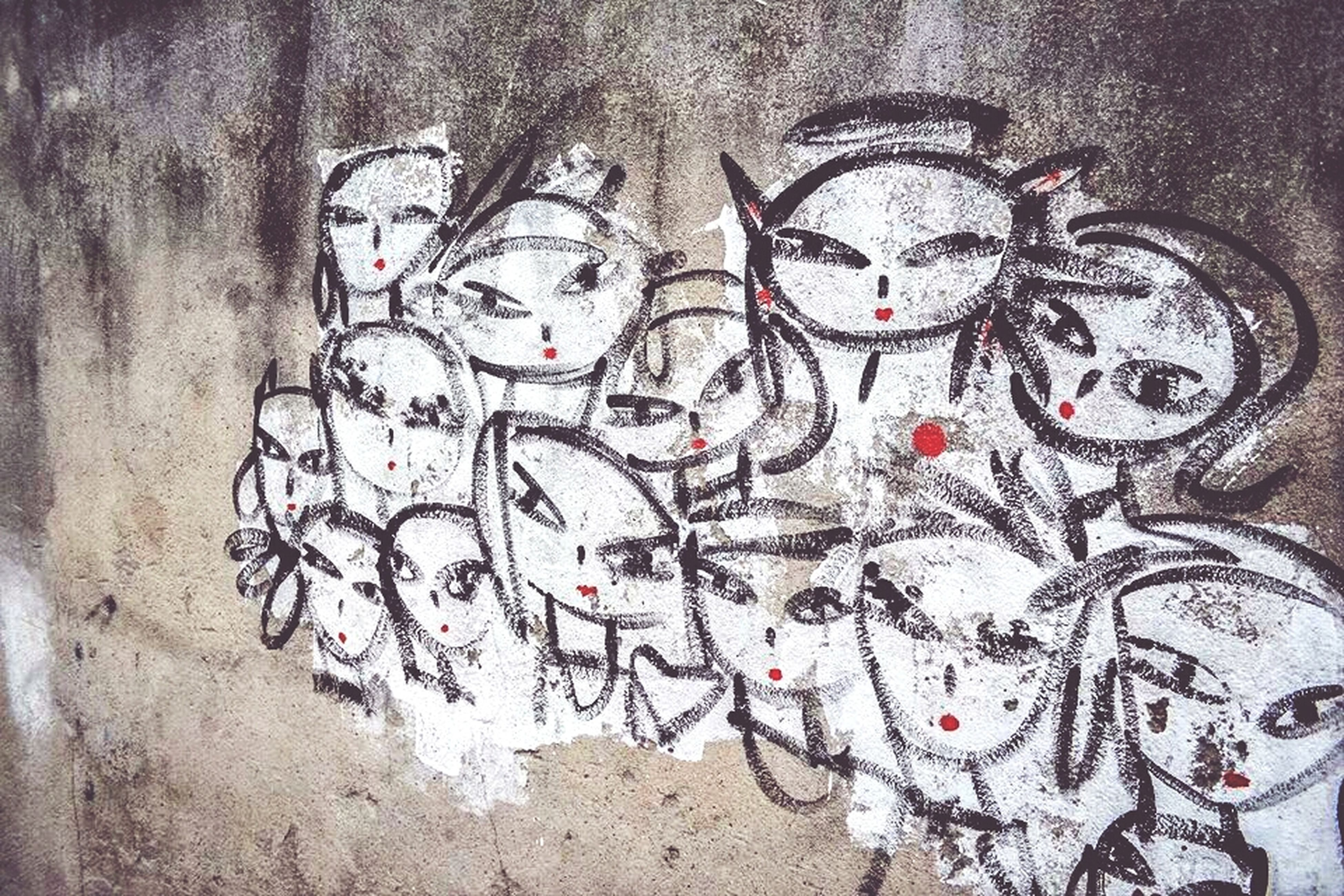 graffiti, wall - building feature, creativity, art, art and craft, full frame, wall, textured, close-up, street art, old, built structure, backgrounds, architecture, paint, weathered, multi colored, pattern, no people, indoors