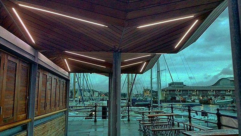 Had to take shelter here this morning Capnjaspers Rainy Raining Shelter Plymouth Plymouthbarbican Plymouthwaterfront Suttonharbour Eralymorning Offtowork Amaturephotography Photography Daily_photoz Devon Plymouthfreshers
