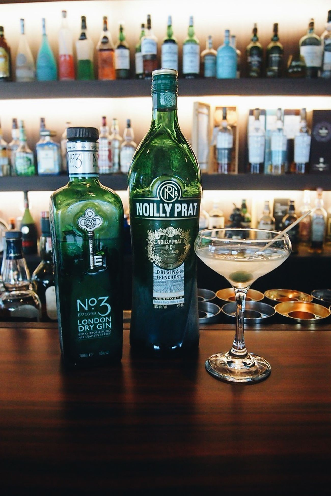 Dry Martini with No3 gin + Noilly Prat vermouth Drinks GIN Cocktails Cafe Louis Drymartini No.3 Gin Noilly Prat