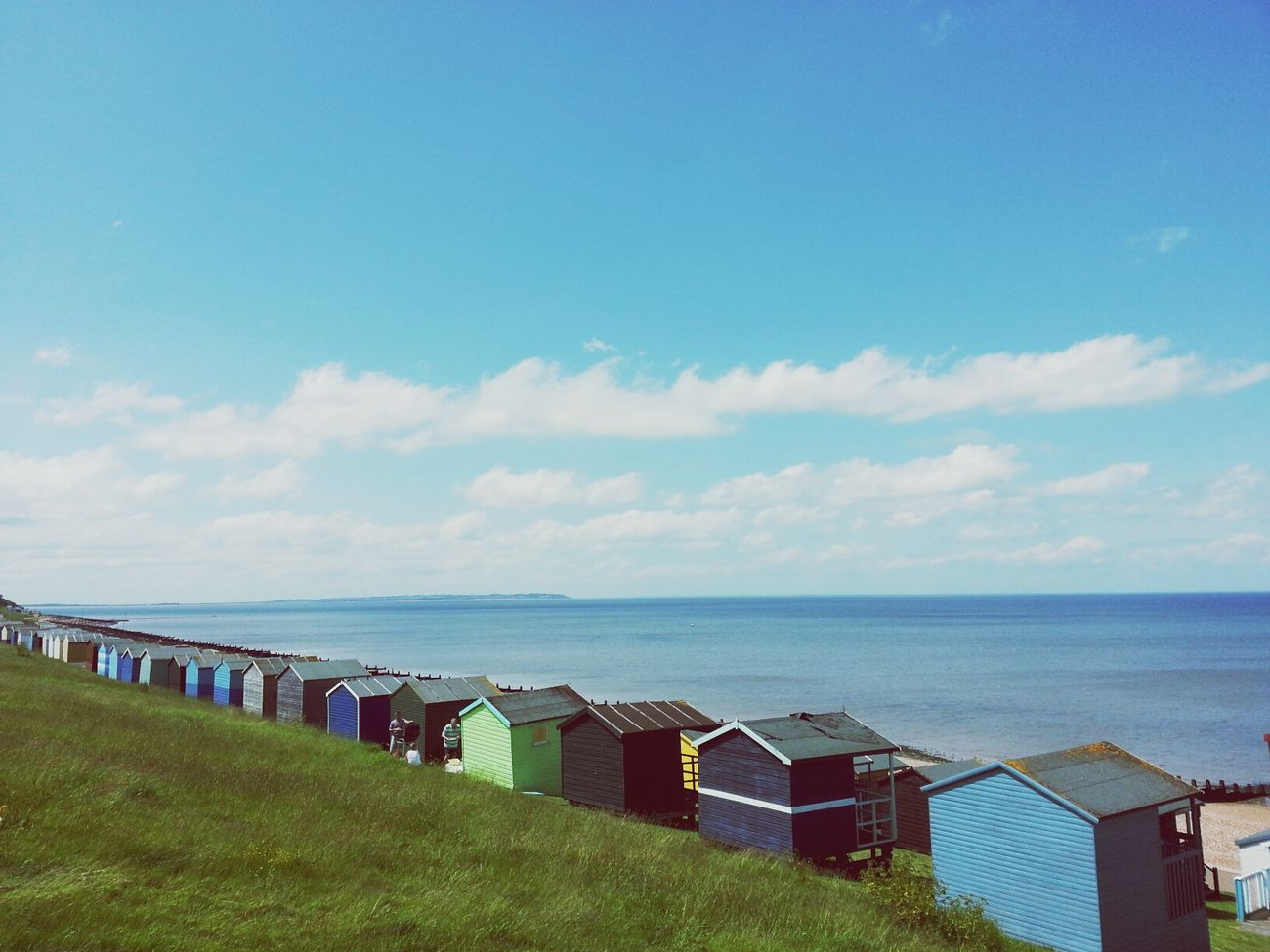 view fron the slopes in Tankerton the other week ? First Eyeem Photo