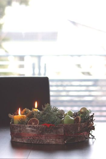 Adventskranz Adventszauber Adventszeit Burning Candle Christmas Christmas Around The World Christmas Decorations Christmastime Chritsmas Chritsmastime Close-up Day Flame Illuminated Indoors  No People Tea Light X-mas Xmas