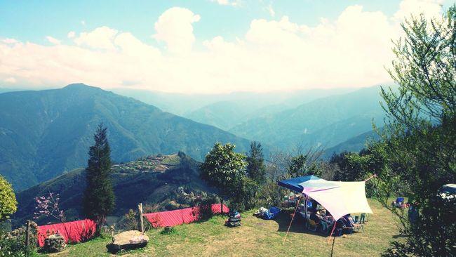 據說海拔1500公尺! Go Camping