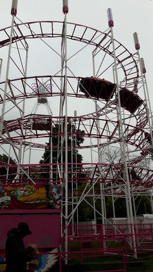 A Day At The Funfair - Attractions Fresh Colors Relaxing Time - Nice Day