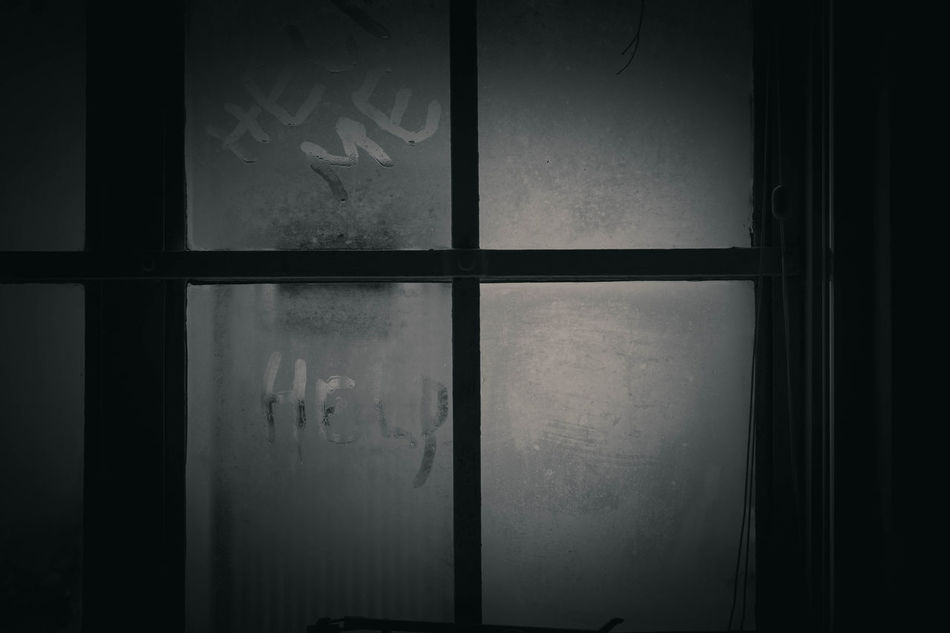 Help Black Black & White Black And White Black And White Collection  Black And White Photography Close-up Cold Cold Days Cold Temperature Day Help Help Me Indoors  No People Scary Sombre Square Steam Steam On The Window Text Welcome To Black Window