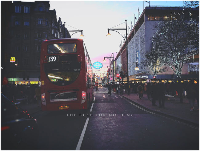 City Transportation Street Outdoors London Cityscape Urban Skyline Winter