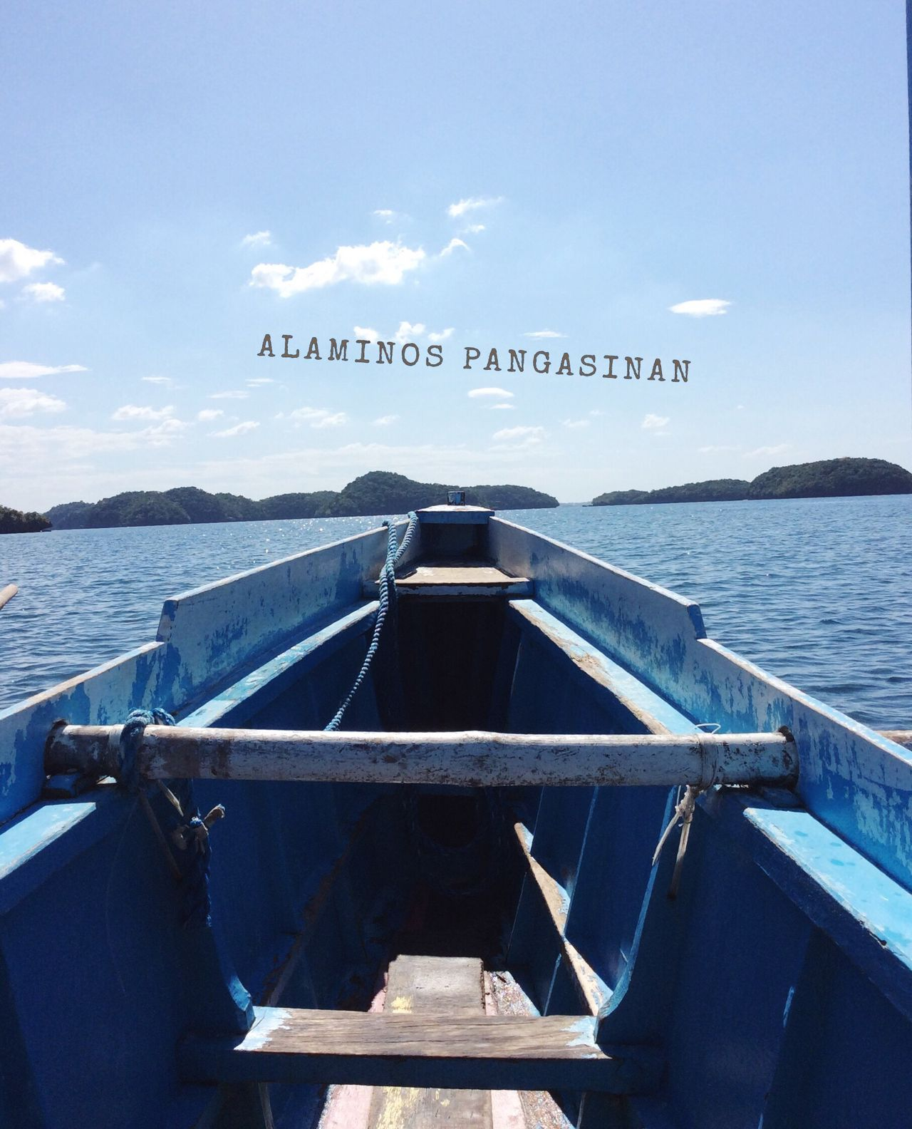 Exploring the Hundred Islands at Alaminos City, Pangasinan Water Travel Photography ExploringPhilippines HundredIslandPhilippines Calming Views First Eyeem Photo