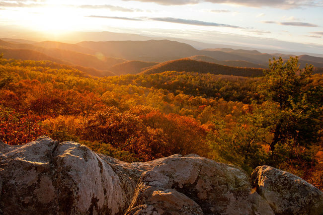 Geology Hill Landscape Majestic Mountain Nature Remote Scenics Shenandoah National Park Tranquil Scene Tranquility
