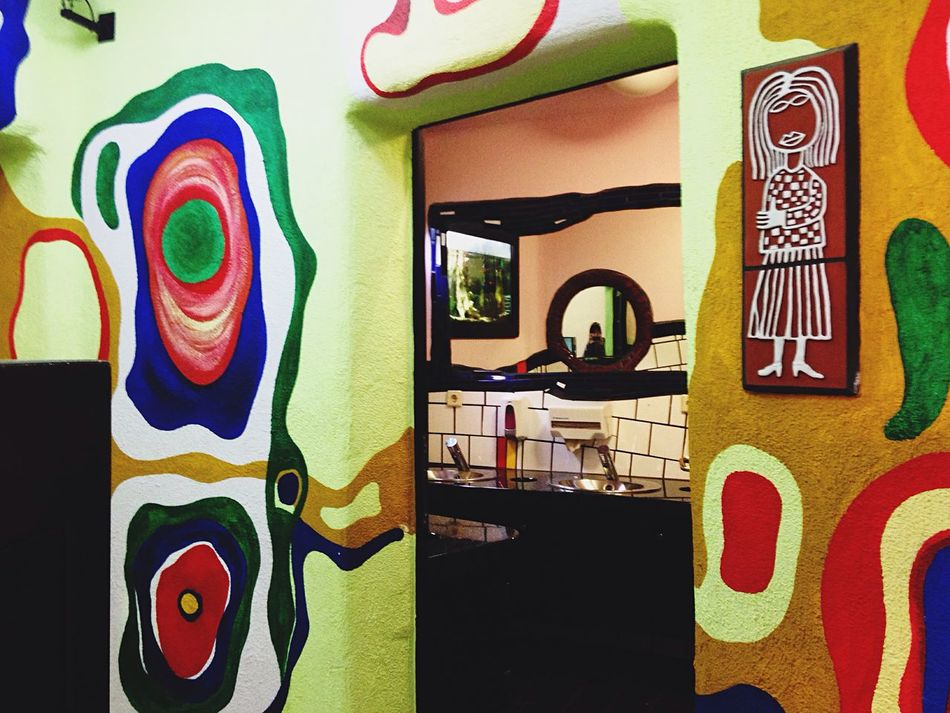 My Favorite Photo me at Hundertwasser Hauser in Magdeburg at The Wc 💃 Sofiavicchi Sofiavicchiconceptdesign Toilet Toilette Art Naif Germany Environment Ceramics Colours Architecture Architectural Detail