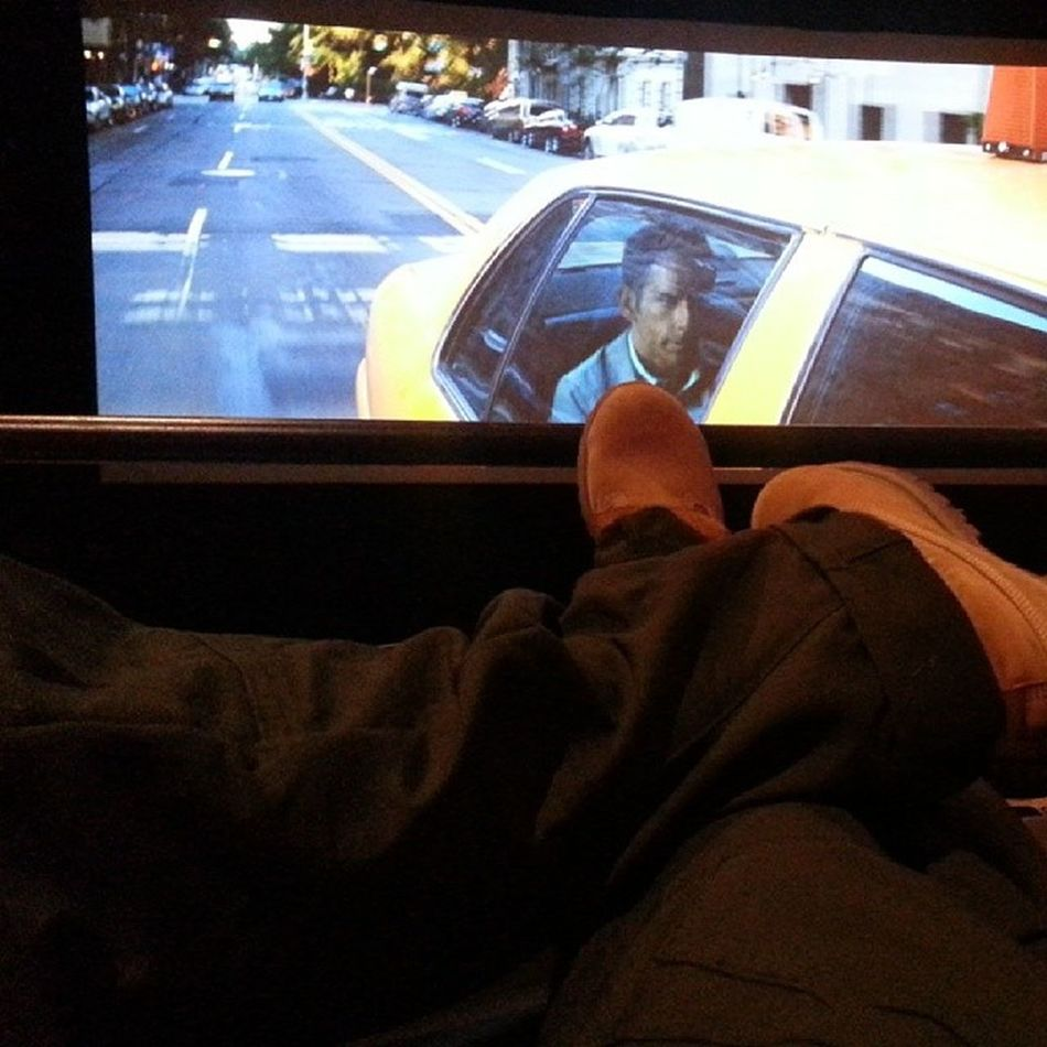 Feet up, chilling in my theater room lls. G -Star Buttahs R &R