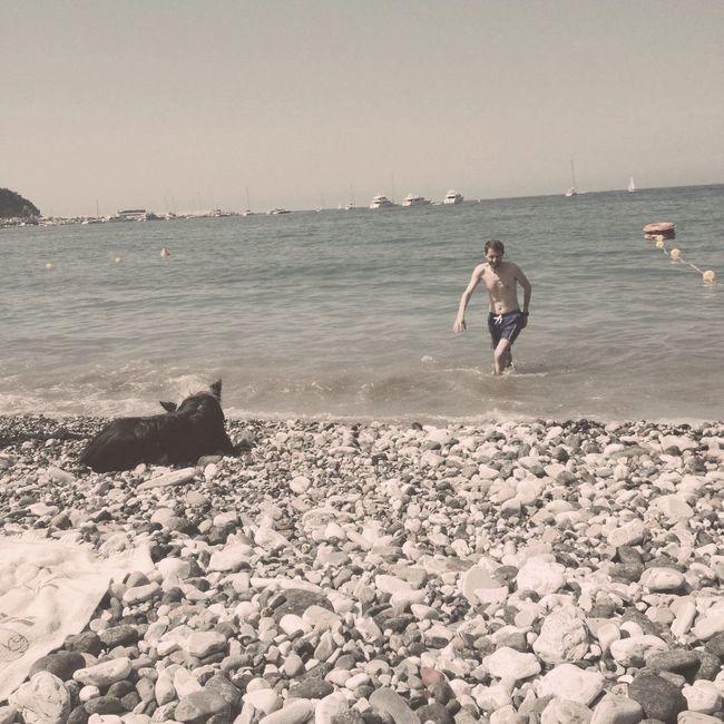 19 luglio 2014 the last day Hipstamatic Blankoc16 Adler9009 Beach