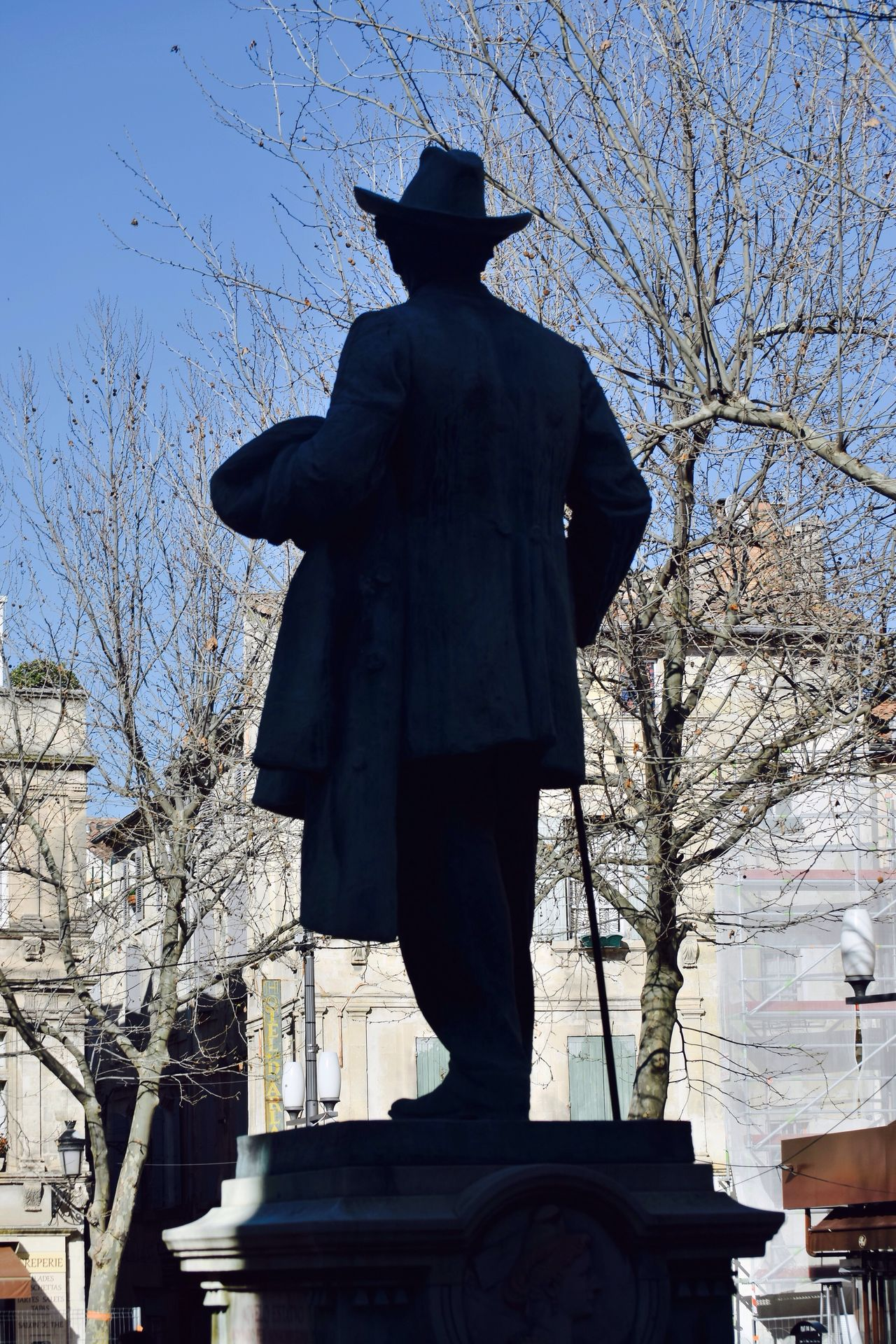 The statue Outdoors Arles Provence France 🇫🇷 IPhone Photography poet