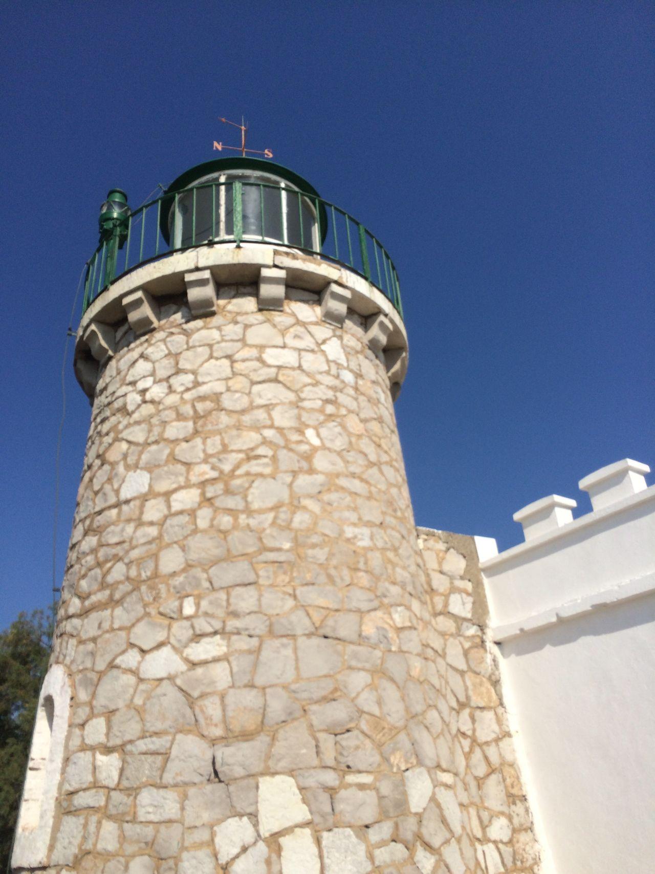 Greek old lighthouse