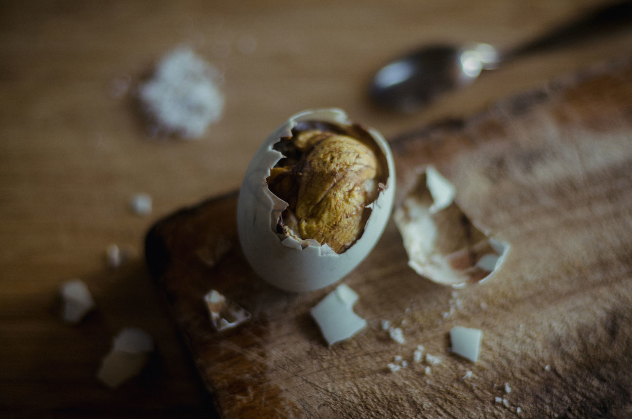 Duck Embryo (aka 'Balut'). A common street food in the Philippines. Best paired with salt or vinegar. Balut Close-up Food Foodphotography Indulgence Philippines Ready-to-eat Selective Focus Still Life Street Food Worldwide
