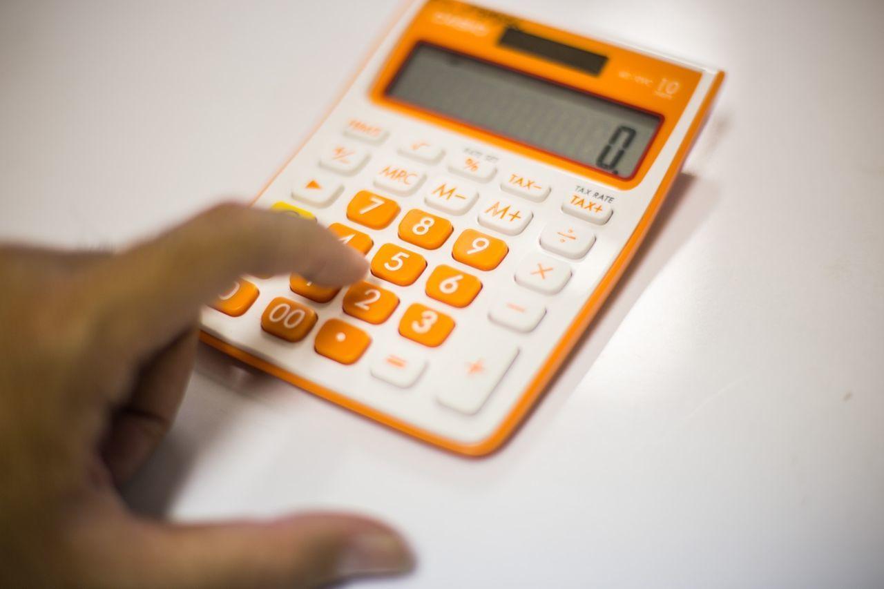 Beautiful stock photos of math, Calculator, Cropped, Financial Figures, Human Body Part