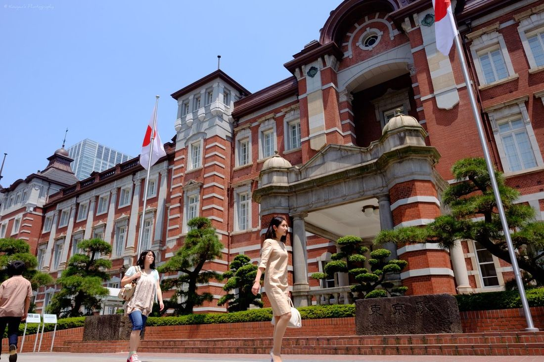 Tokyo Station Casual & Formal Walkers Walker Fujifilm_xseries FUJIFILM X-T1 XF 16mm F1.4 R WR EyeEm TOWNSCAPE