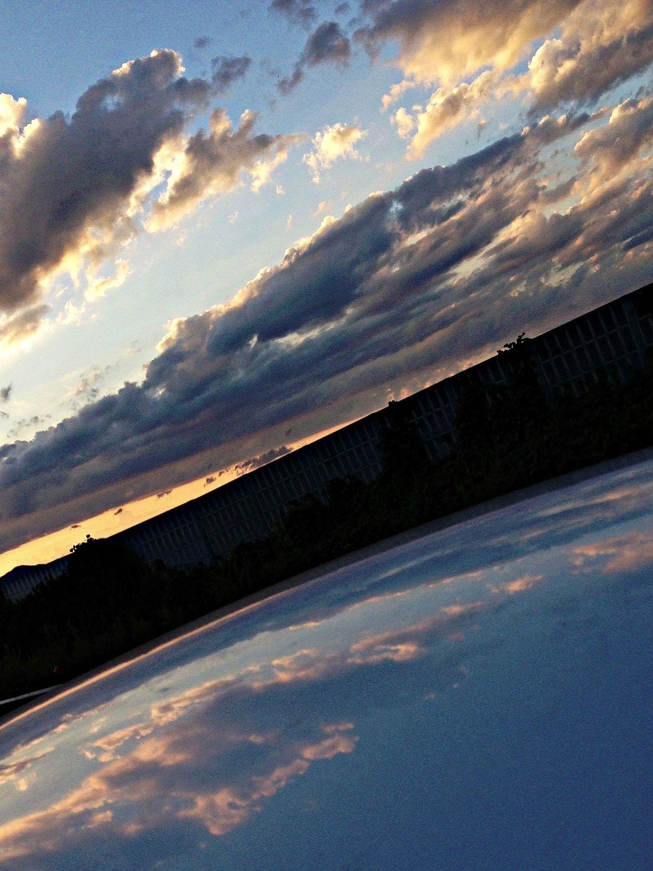 Sunset 夏の… 空