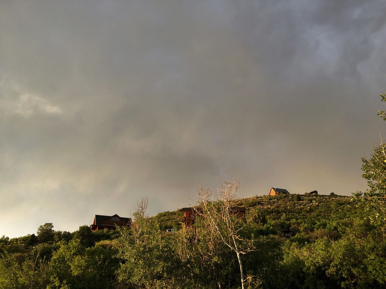storms rolling through this evening.