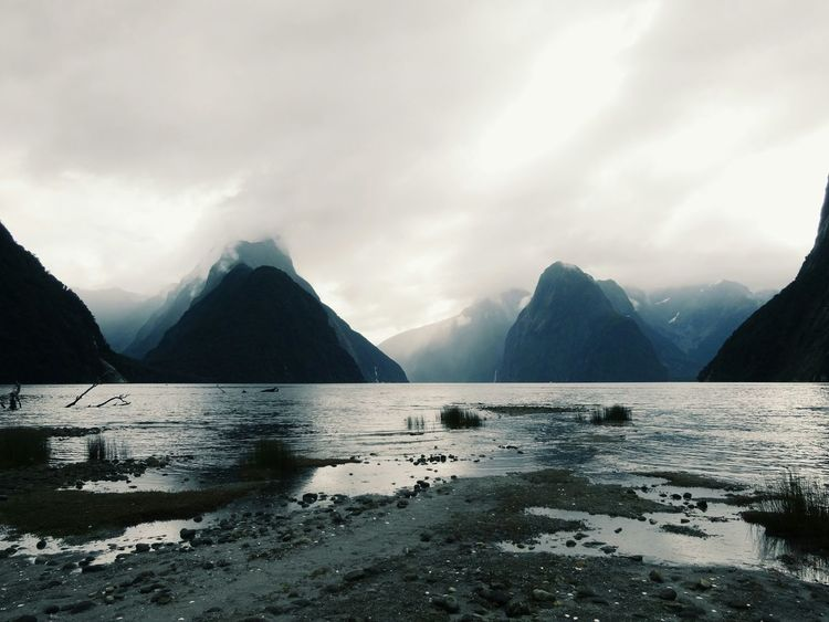 Protecting Where We Play New Zealand Nature Travelling Milford Sound Mountains Fjord Newbie Hello First Eyeem Photo