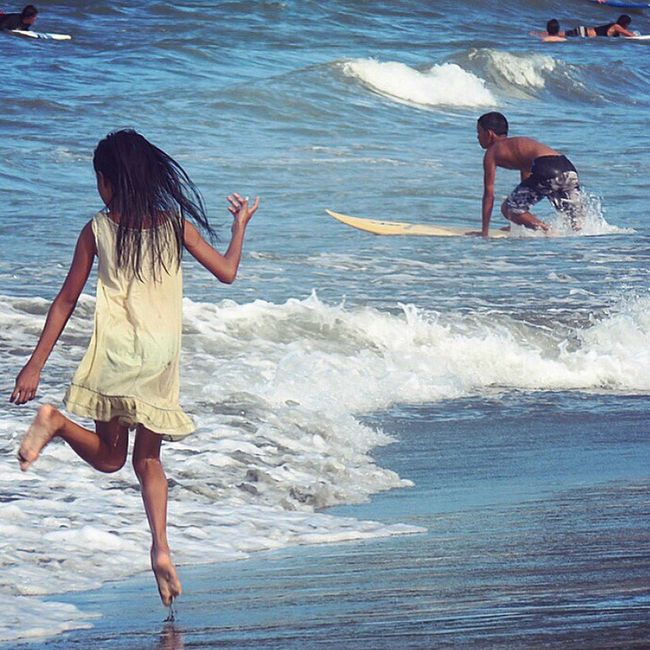 Blue Wave Surf's Up Surfing Small Waves Surfers Baler Aurora Philippines Eyeem Philippines Beach Beach Photography Beach Life Island Life Let Your Hair Down People Of The Oceans